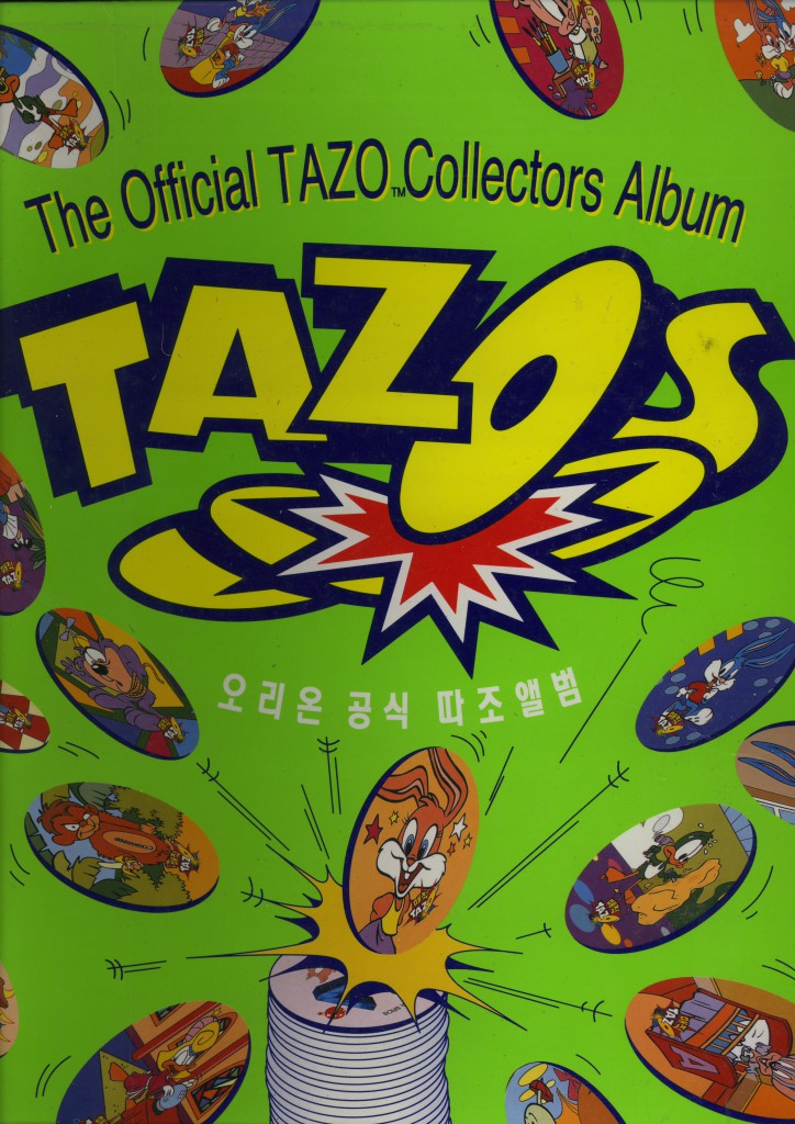 tazo collectors album voorkant
